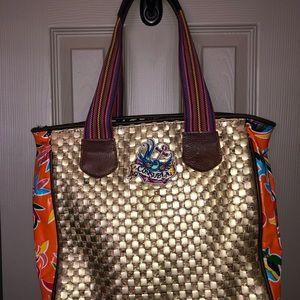 c52325d3da7 Consuela Bags - Consuela Tote - Beautiful gold quilted look